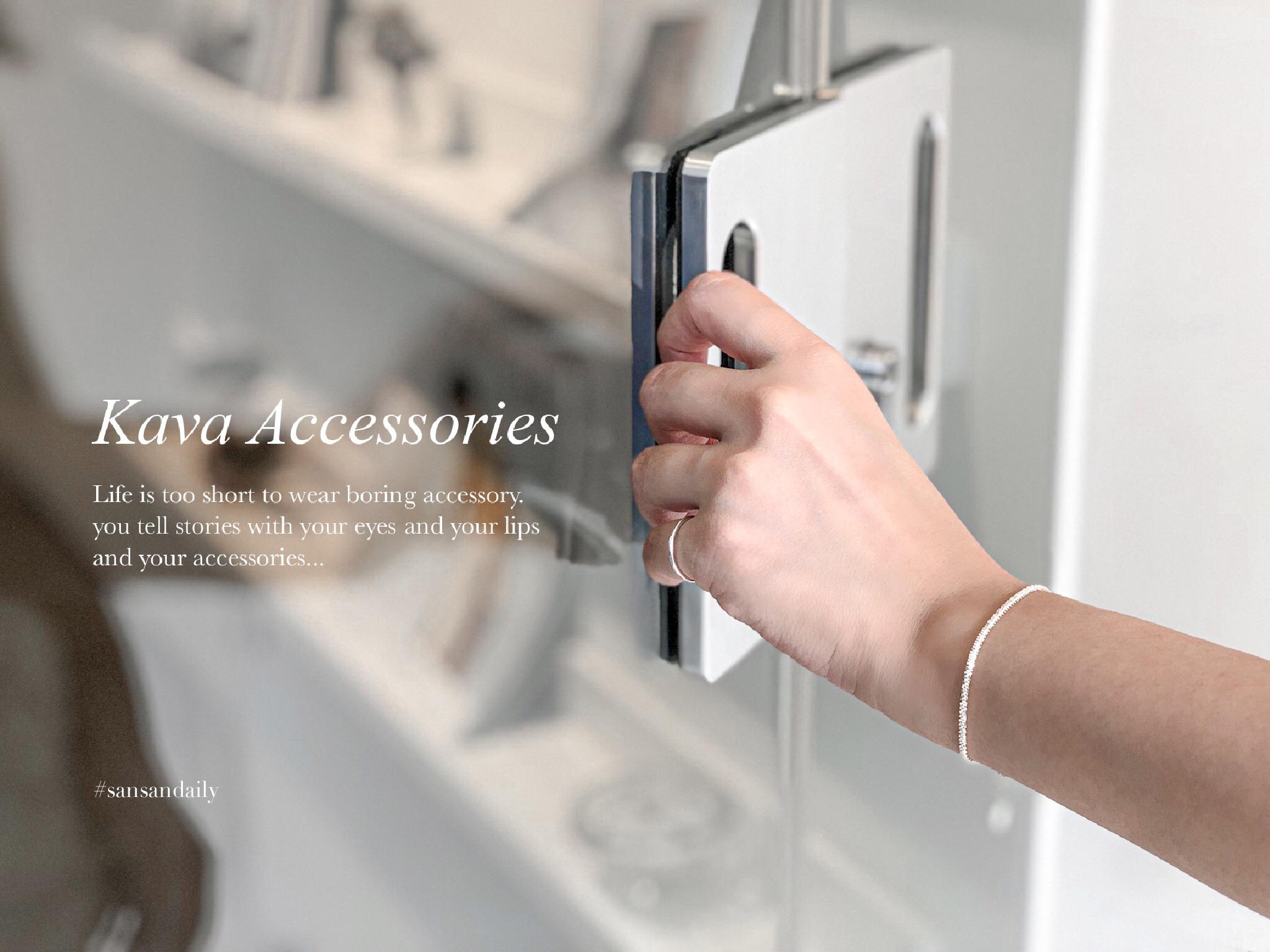 每天戴的.必須講究 飾品推薦Kava Accessories氣質出眾帶點小個性|sansan開箱