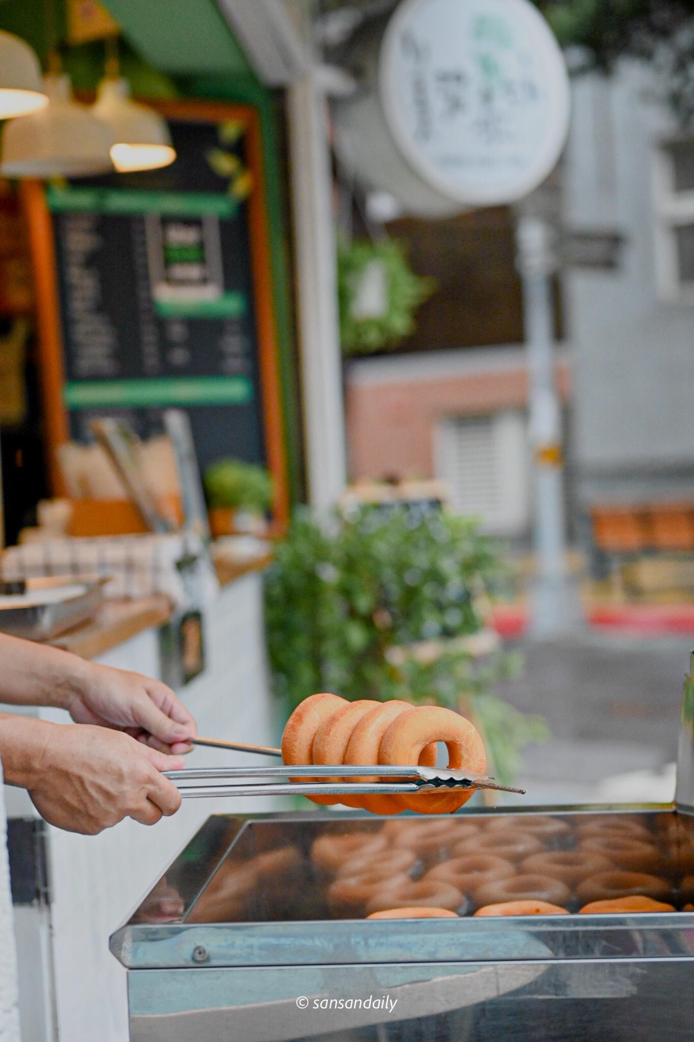 美濃泰涼 台北在地美食 小米甜甜圈