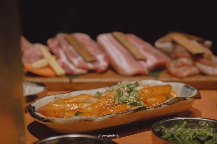 娘子韓食 一盤辣炒年糕