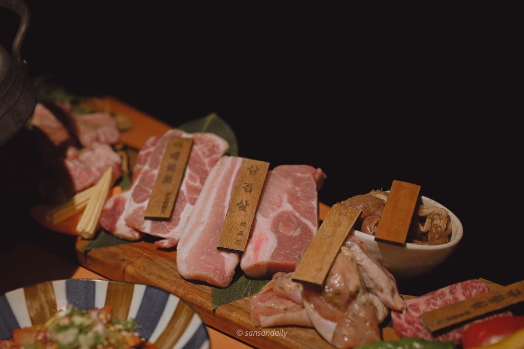 娘子韓食 首爾超厚切組合肉盤