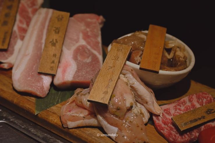 娘子韓食 香草雞肉生肉