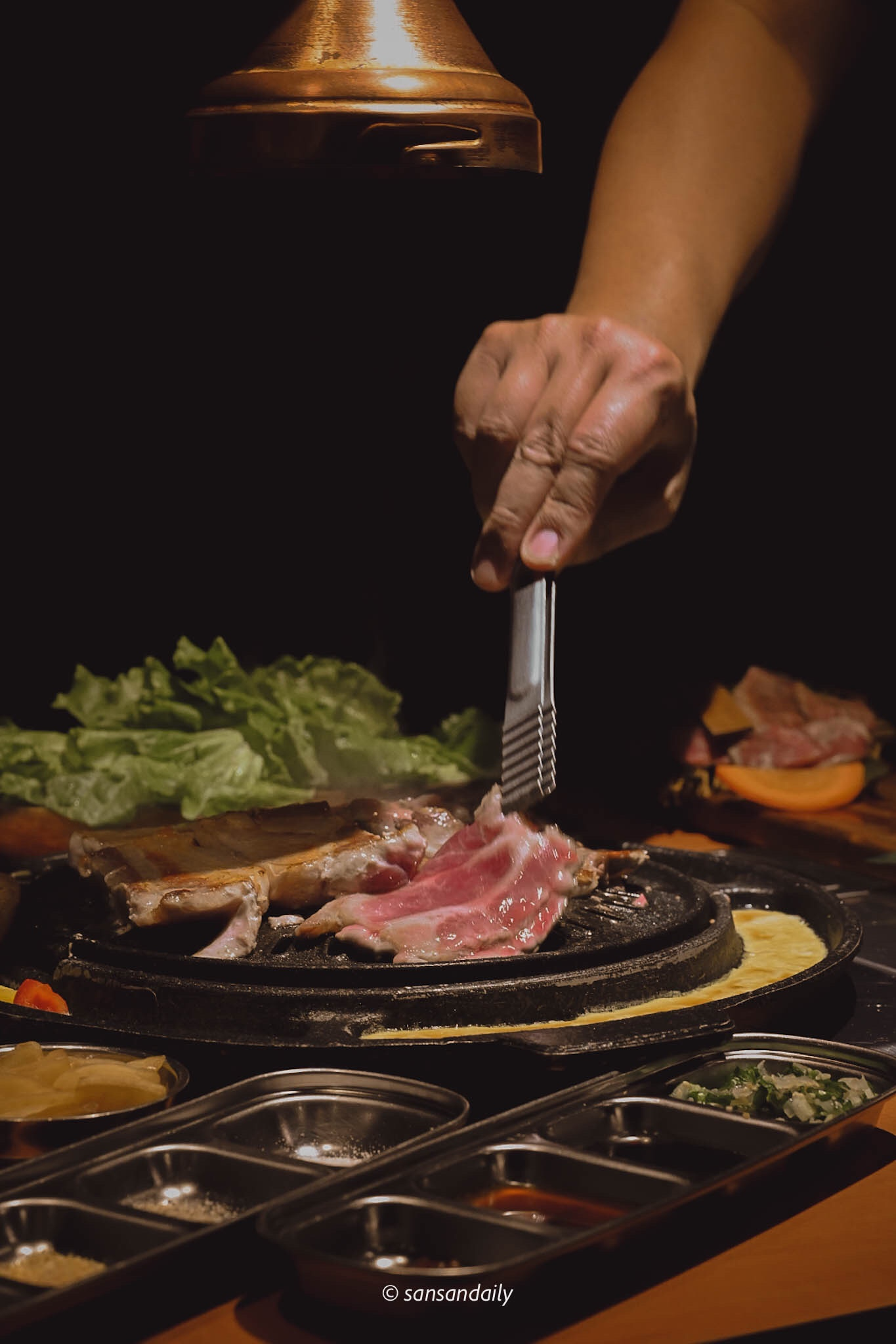 娘子韓食 桌邊代烤