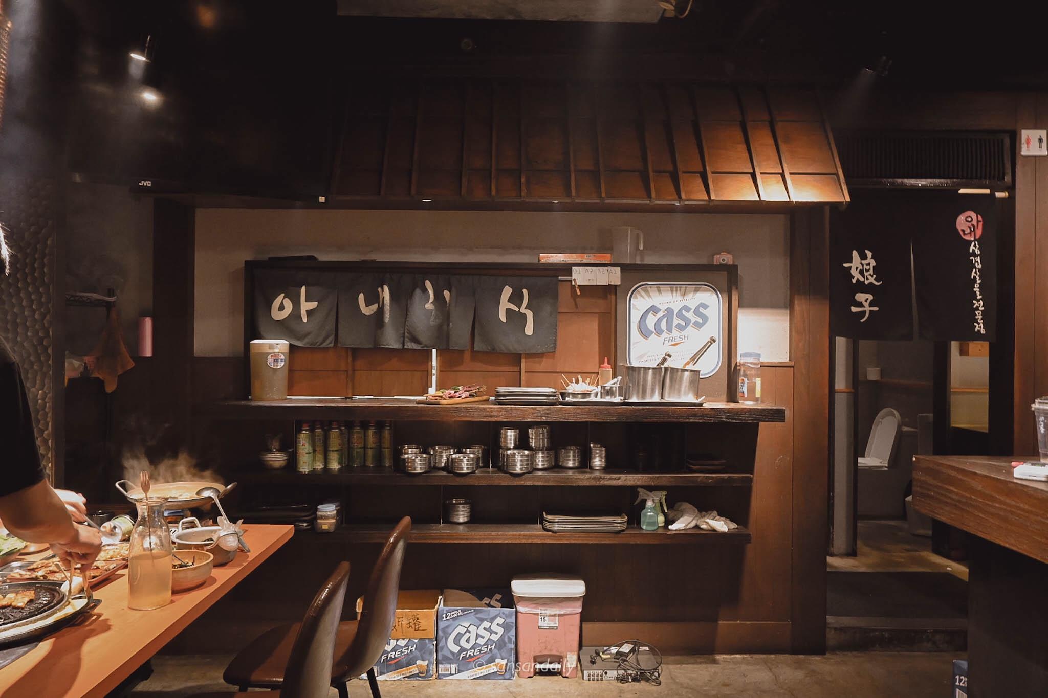 娘子韓食室內空間裝潢