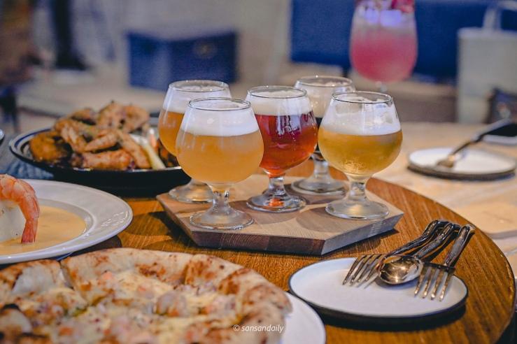 一五杯高腳杯啤酒 GUMGUM Beer & Wings剛剛鮮釀連續技