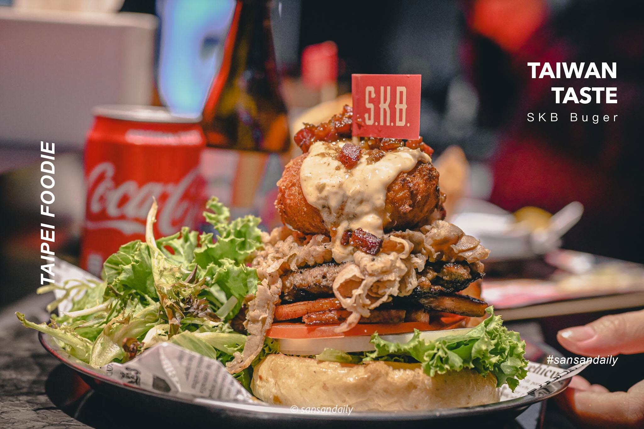 我嘴裡唱著饒舌 手裡拿著 Burger!東區最hip-hop、罪道地美式漢堡 EZTABLE優惠贈開胃菜|sansan吃台北