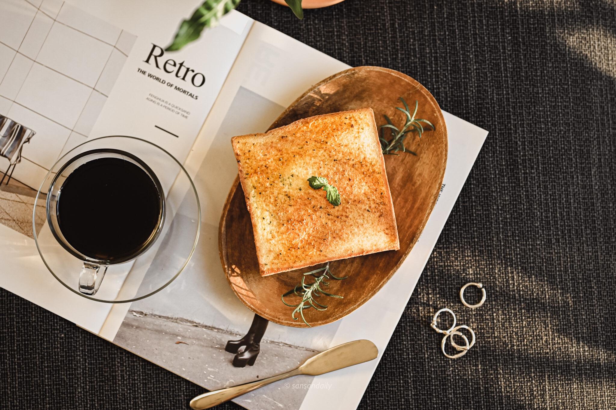 中和美食 愛維爾手感烘焙坊新品「四葉鮮菓子」懶人早餐必備、居家下午茶推薦抹醬厚片|sansan吃新北